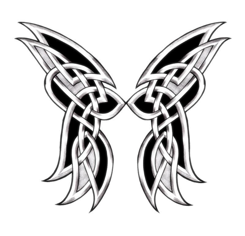 celtic butterfly by shepush on deviantart. Black Bedroom Furniture Sets. Home Design Ideas