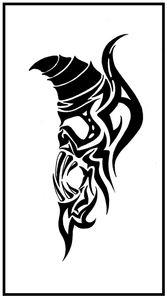 tribal demon 2 by shepush on deviantart