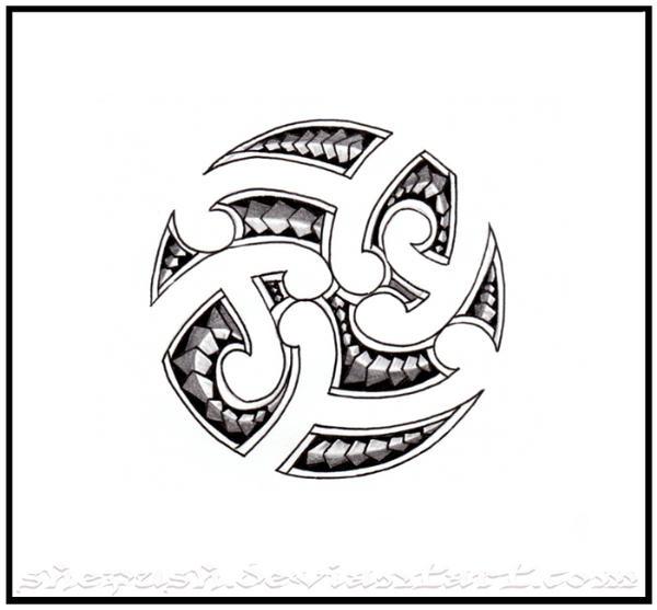 Maori circle by shepush