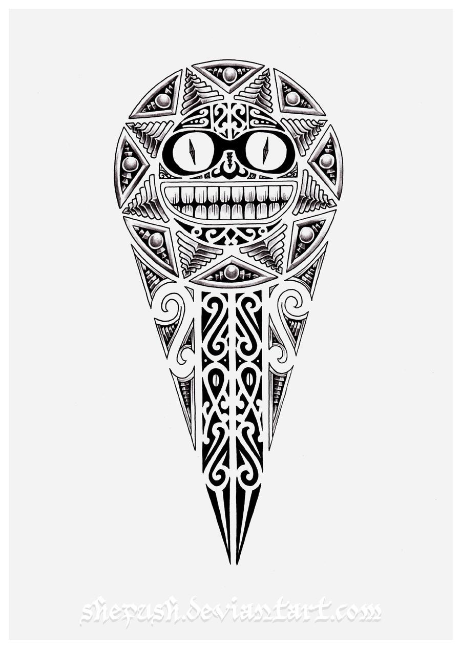 Maori Sun Tattoo: Maori Sun 2 By Shepush On DeviantArt