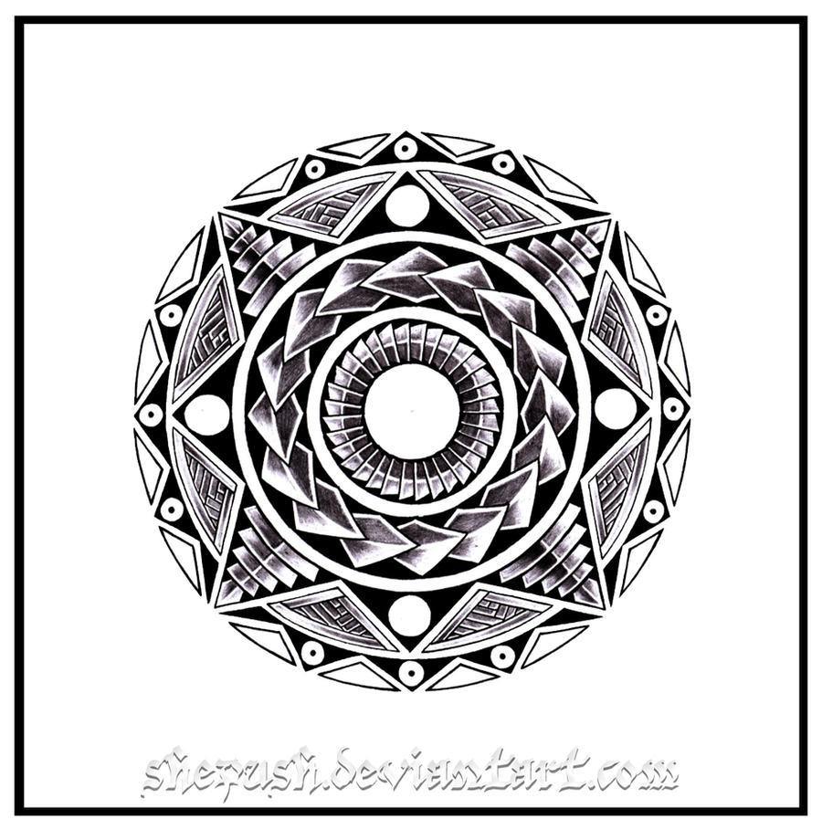Maori Sun Tattoo: Maori Sun 3 By Shepush On DeviantArt