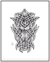 Celtic Dragon head by shepush