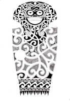 Full sleeve Maori design by shepush