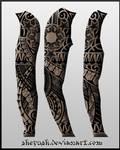 Full sleeve tattoo 12