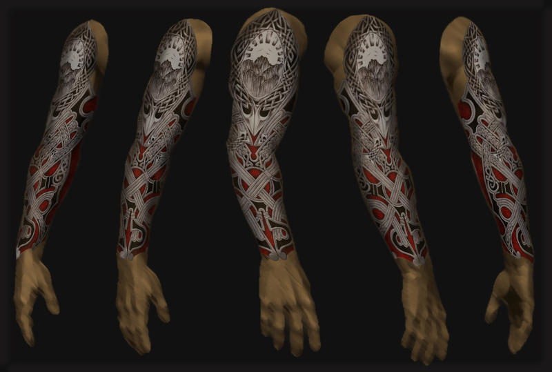 full sleeve tattoo 16 by shepush on DeviantArt