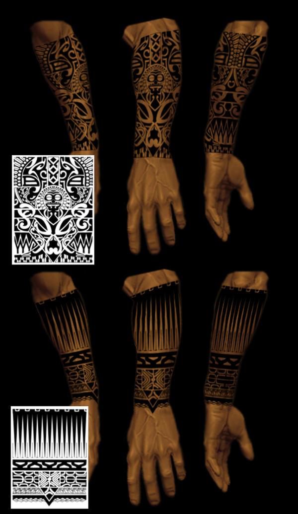 half sleeve tribals - sleeve tattoo