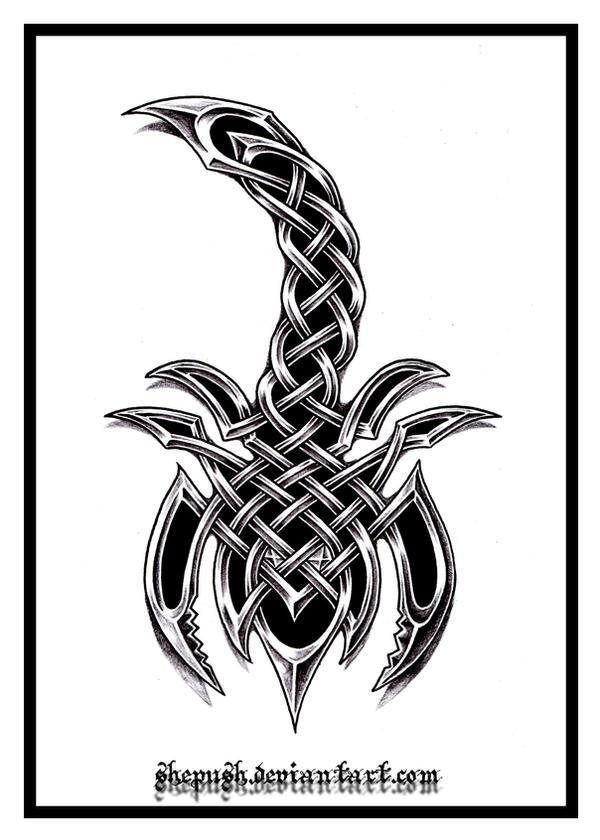 Celtic scorpio by shepush