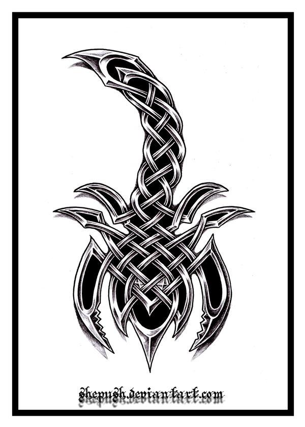 Celtic scorpio by shepush