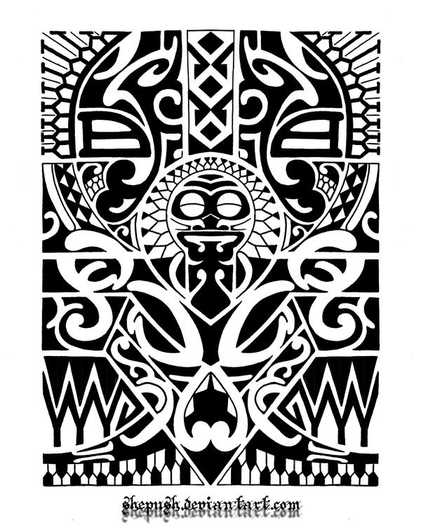 Lower arm tribal 1 by shepush on DeviantArt