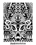 Lower arm tribal 1