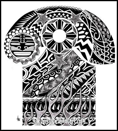 tribal sleeve design by shepush on deviantart. Black Bedroom Furniture Sets. Home Design Ideas