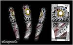 Alonzo full sleeve design on arm
