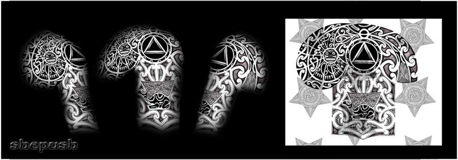 f87dbd8c3 Mark Full Sleeve By Shepush Deviantart Com Deviantart – Dibujos Para ...