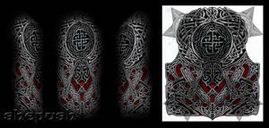 Celtic style half sleeve