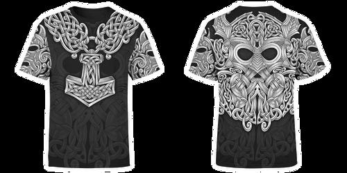 Mjolnir t-shirt by shepush