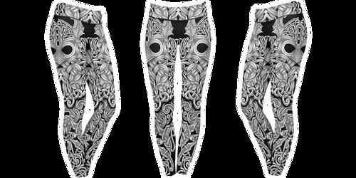 Mjolnir leggings by shepush