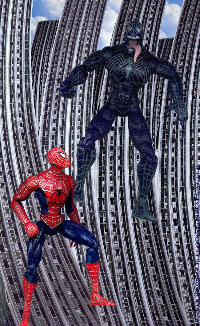 Spiderman VS Venom by HeroKenFlatt on DeviantArt