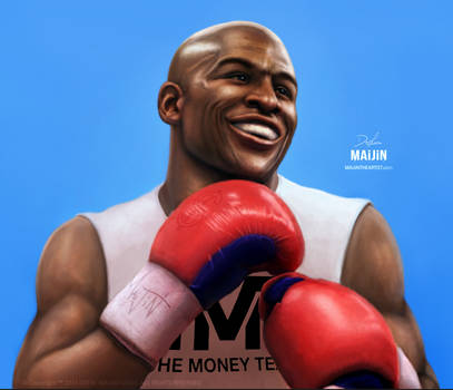FLOYD 'Money' MAYWEATHER by MAiJiNTHEARTIST