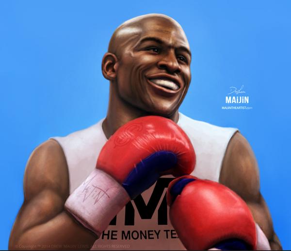 FLOYD 'Money' MAYWEATHER by MAiJiNTHEARTIST