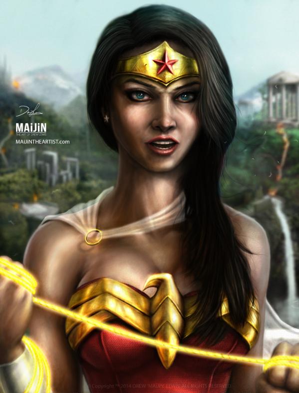 Wonder Woman by MAiJiNTHEARTIST