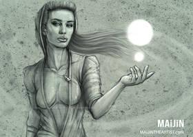 WHITE MAGIC by MAiJiNTHEARTIST