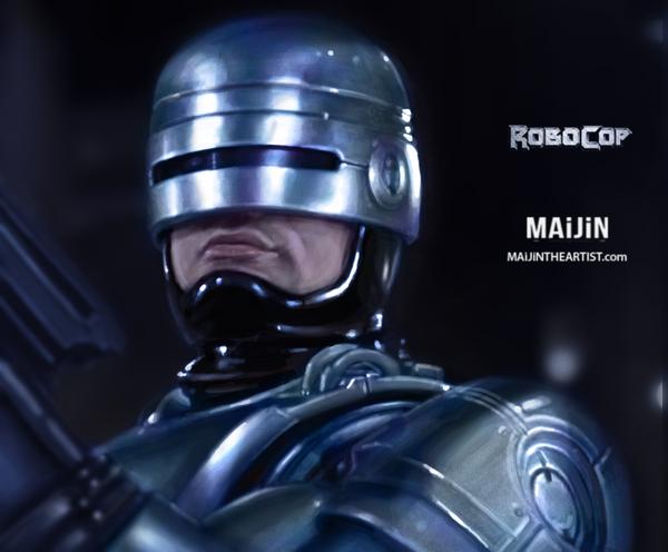 Robocop '87 Study by MAiJiNTHEARTIST