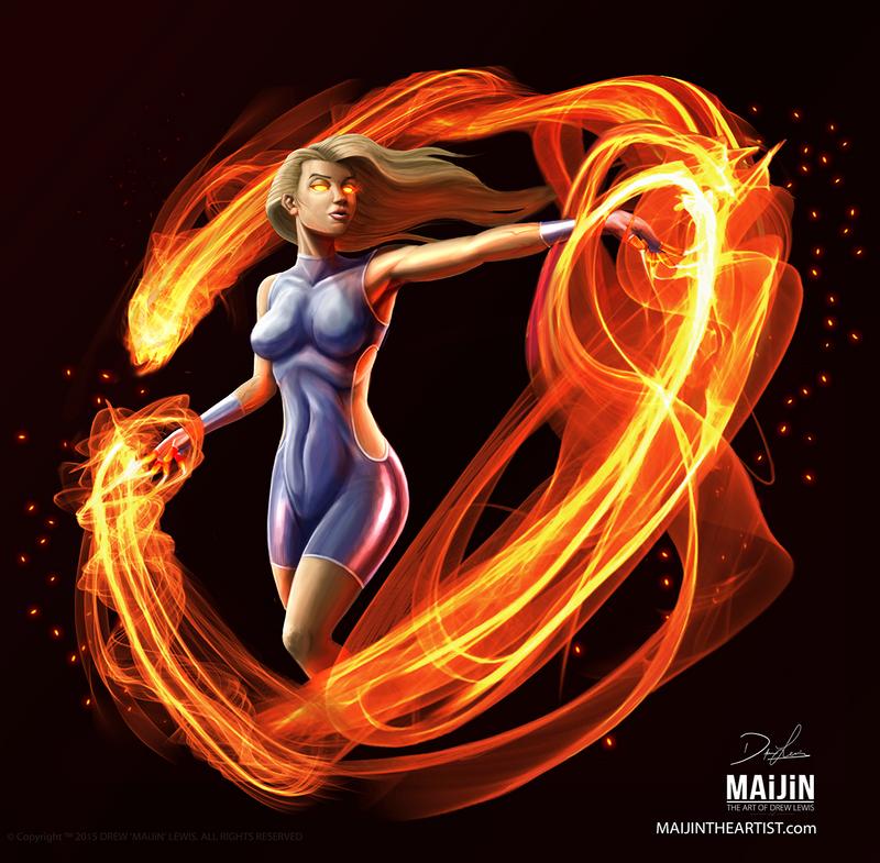 FIREBURNER by MAiJiNTHEARTIST