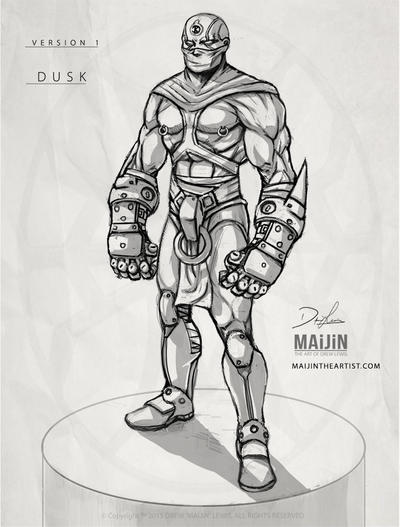 Dv1: Concept Sketch by MAiJiNTHEARTIST