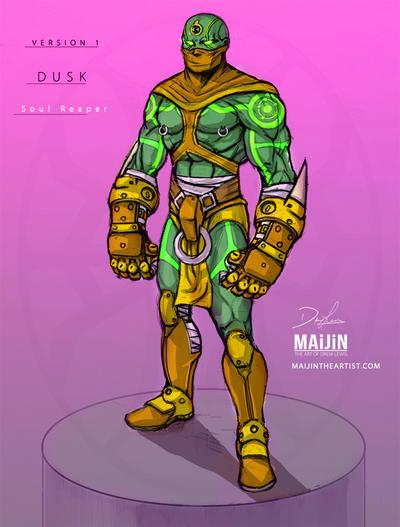 Dv1: Soul Reaper Concept Art | Color Comp by MAiJiNTHEARTIST