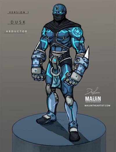 Dv1: Abductor Concept Art | Color Comp by MAiJiNTHEARTIST
