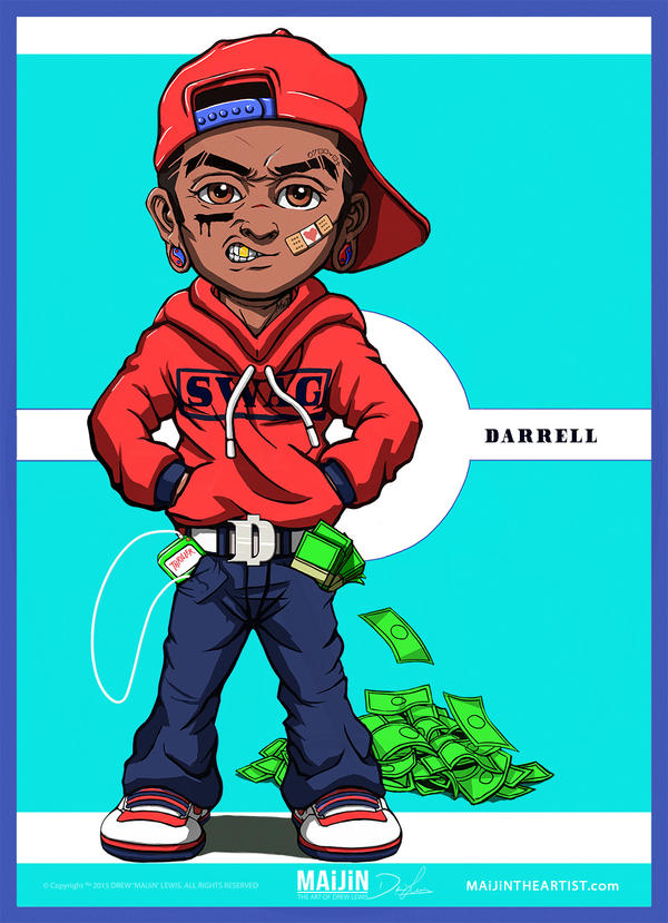 Darrell: The Hustla | Animation Concept Art by MAiJiNTHEARTIST