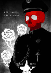 Captain America: Red Skull by misterhessu