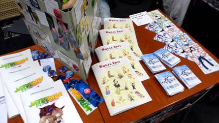 FinnishComics in Animecon 2 by misterhessu