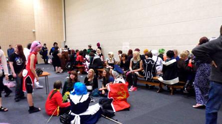 FinnishComics in Animecon 7 by misterhessu