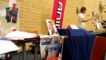 FinnishComics in Animecon 8 by misterhessu