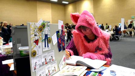 FinnishComics in Animecon 13 by misterhessu