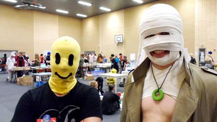 FinnishComics in Animecon 16 by misterhessu