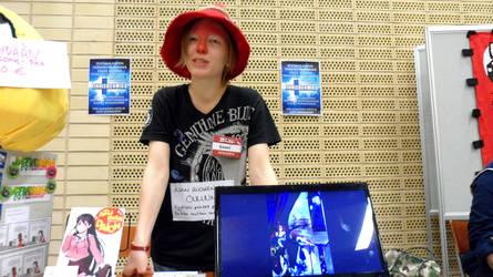 FinnishComics in Animecon 21 by misterhessu
