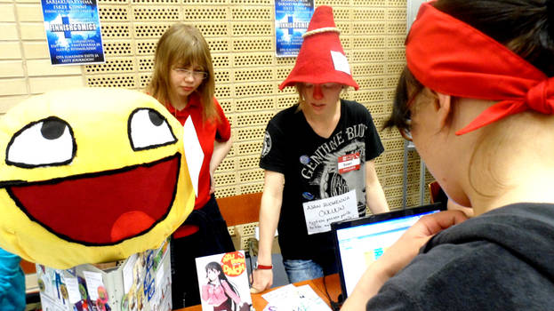FinnishComics in Animecon 25 by misterhessu