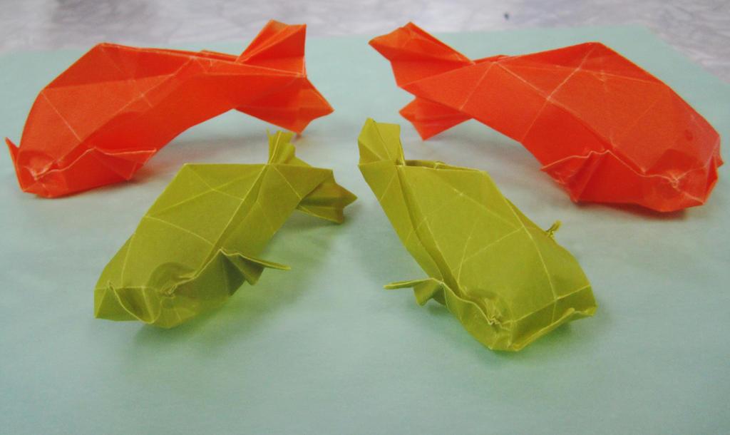 Origami Fish by GaBrIeLlA123
