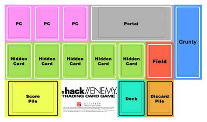 .hack//ENEMY Play Mat
