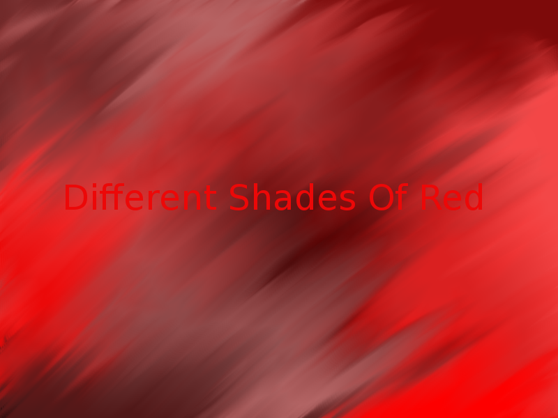 Different Shades Of Red With Text By Shinto123 On Deviantart