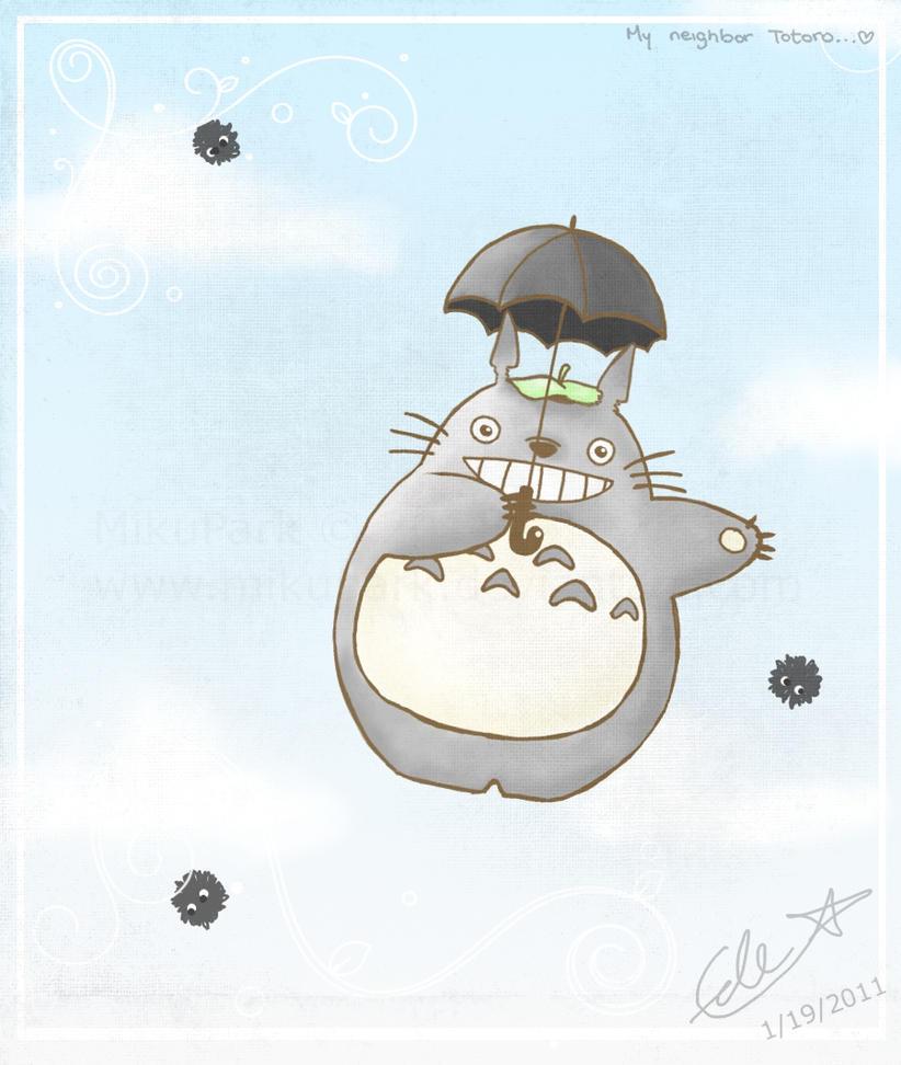 My Neighbor Totoro by erikaprk