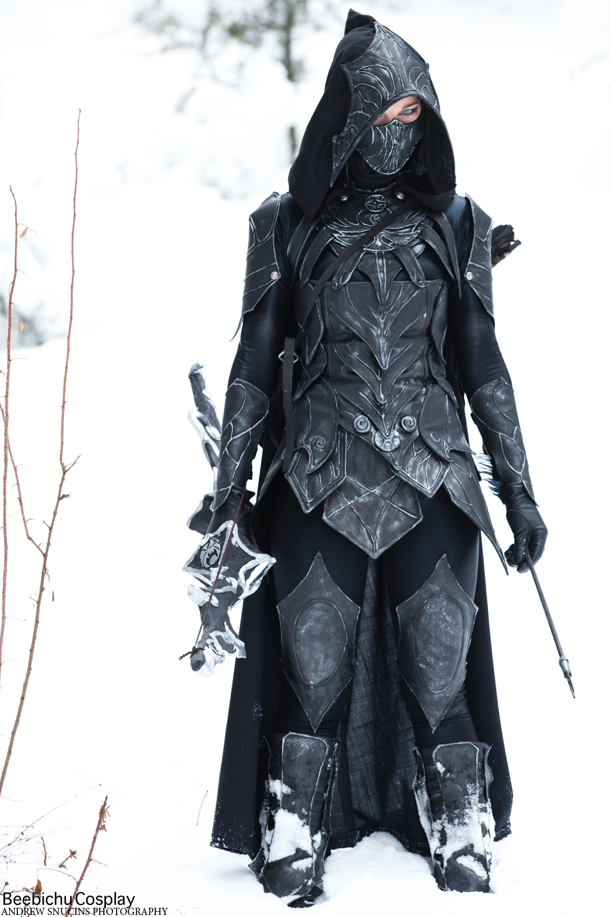 Nightingale Armor Cosplay by Beebichu