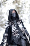 Nightingale Armor Cosplay with Sabre Cat Pelt 2