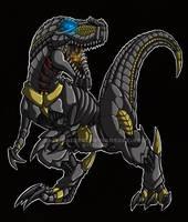 TF Dinobot Grimlock by RizyuKaizen