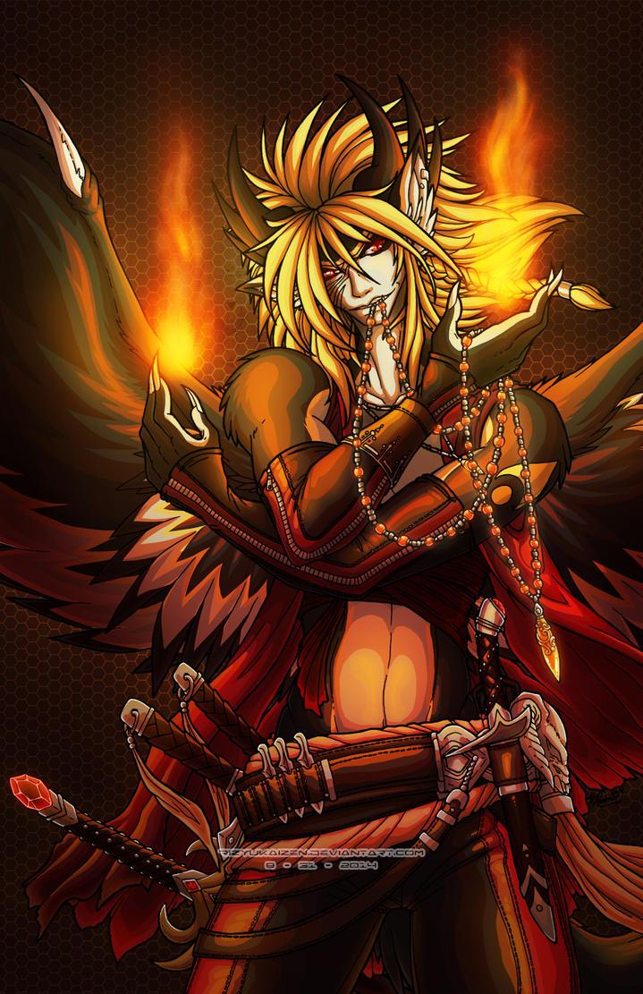 Bloodlines Flame Bearer by RizyuKaizen