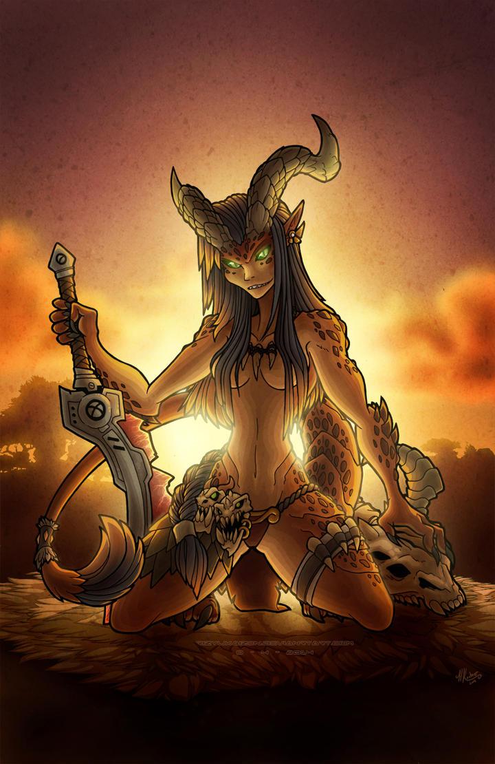 Daughter of the Bloodclan by RizyuKaizen