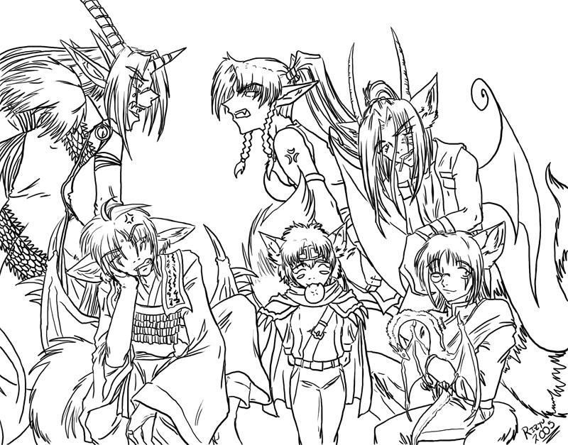 Saiyuki Cosplayers by RizyuKaizen
