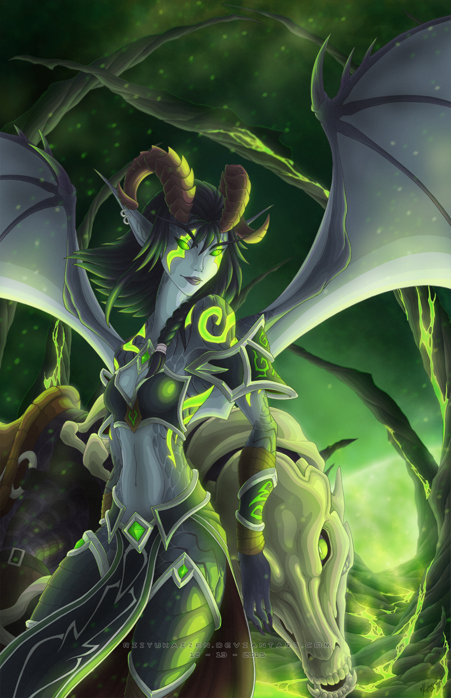 night elf demon hunter